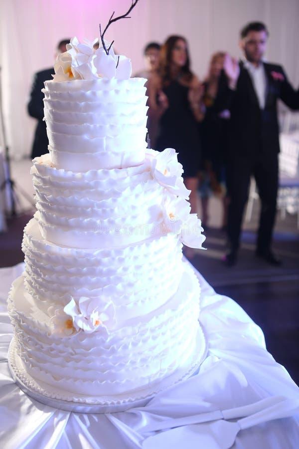 Pastei 8 van het huwelijk stock foto's