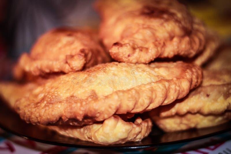 Pasteien van vlees stock afbeelding