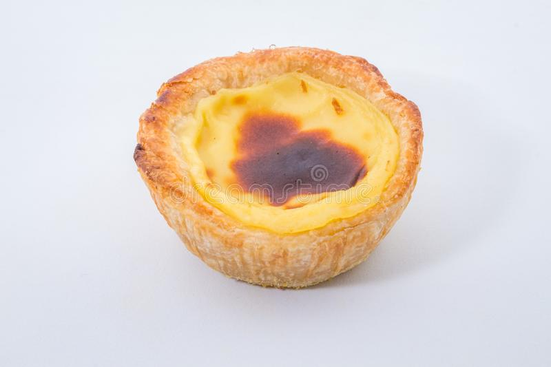 Pasteis de Belem jest typowi Portugalscy jajeczni tarta ciasta _ zdjęcie royalty free