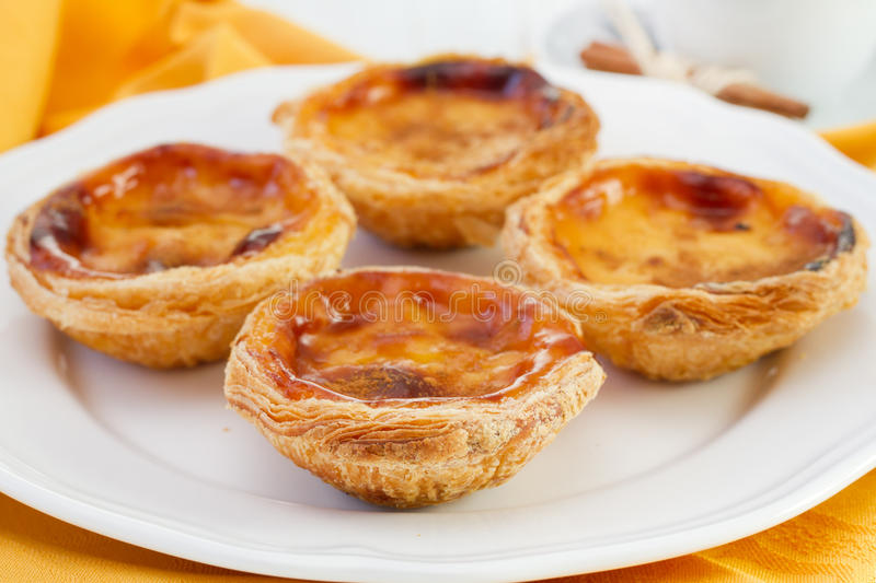 Download Pasteis de nata stock image. Image of typical, sweet - 27783415