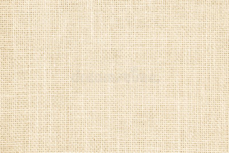 Pastel abstract Hessian or sackcloth fabric or hemp sack texture. Background. Wallpaper of artistic wale linen canvas. Blanket or Curtain of cotton pattern with royalty free stock photography