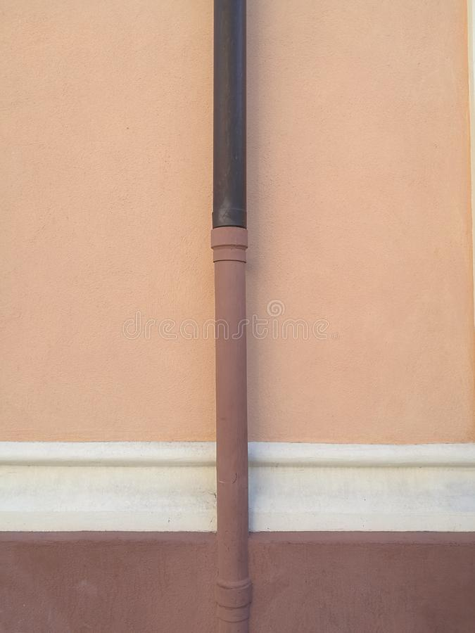 Pastel architecture details in Alassio, Liguria royalty free stock image