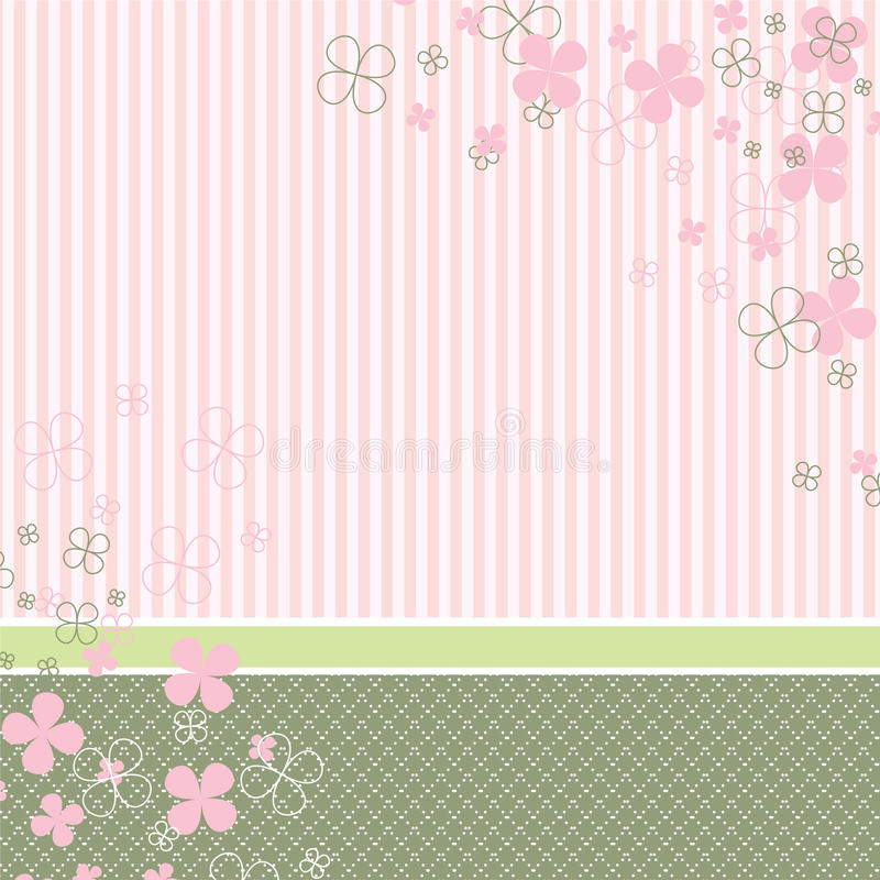 Pastel baby background royalty free illustration