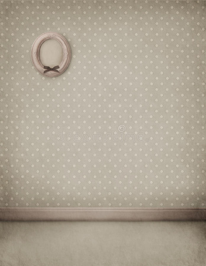 Free Pastel Background Room With A Frame On The Wall Stock Photo - 17164400