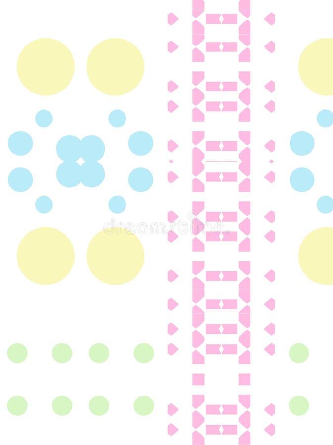 Pastel barwiący wzór zdjęcia stock