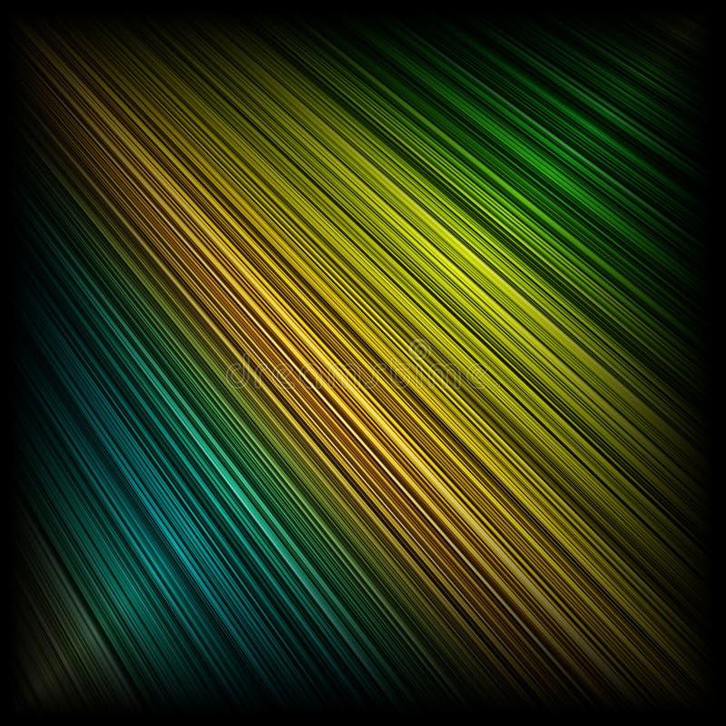 Pastel beams. Pastel colored beams on black background royalty free illustration