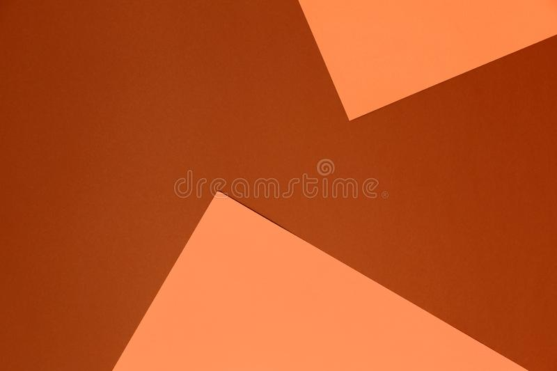 Pastel beige and brown background. Colorful texture. Minimal concept. Creative concept. Pop Art. stock image