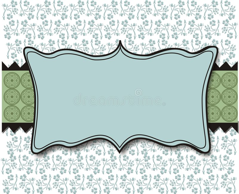 Pastel Blue and Green Background vector illustration