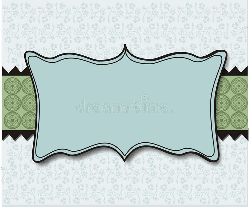 Pastel Blue Green Plaque Background Wallpaper royalty free illustration