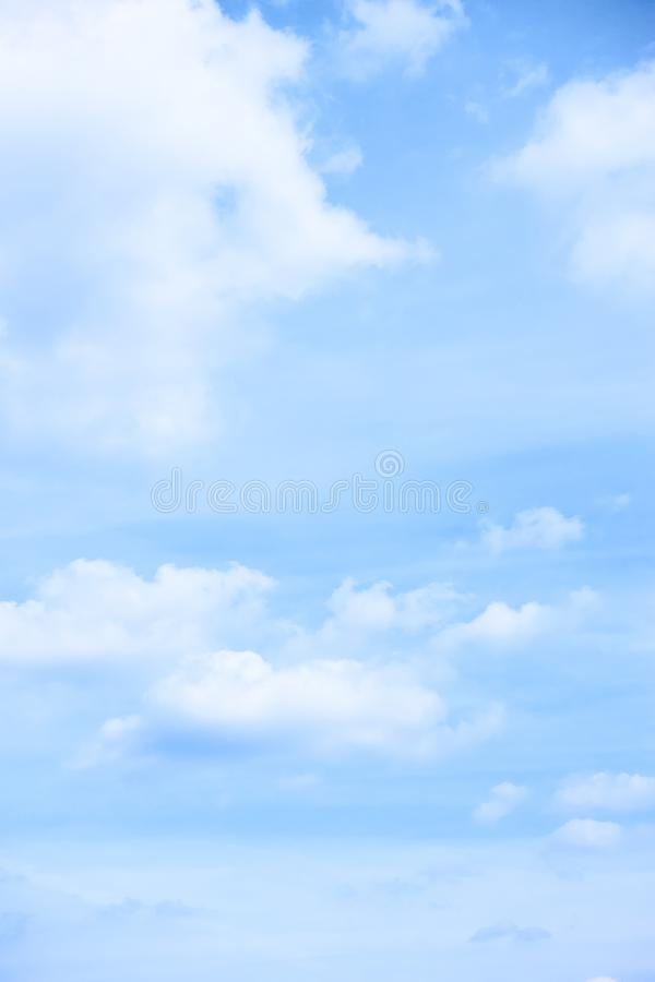 Free Pastel Blue Sky With Light Clouds Royalty Free Stock Images - 161949209