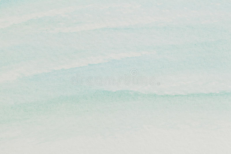 Pastel Blue Watercolor Abstract Royalty Free Stock Photo