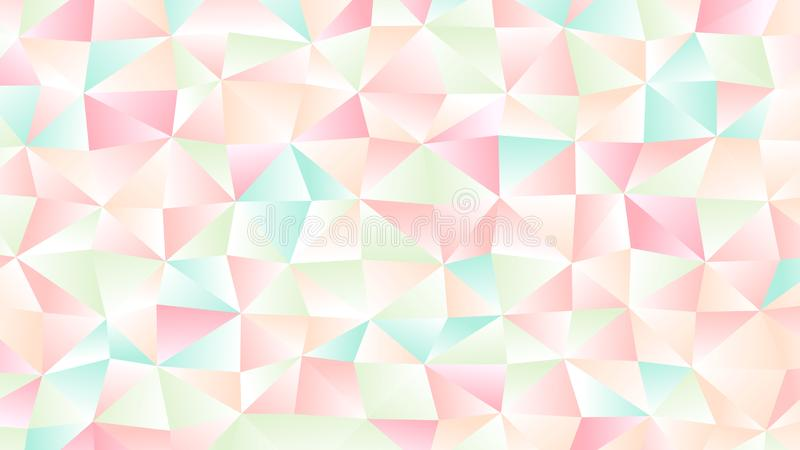 Pastel Bright Light Low Poly Backdrop Design. Colorful Pastel Background for Your Business and Advertising Graphic Design Project. Trendy Creative Desktop vector illustration