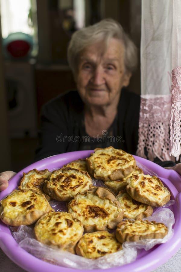 Pastel careliano - são os pastéis tradicionais de Carélia fotografia de stock royalty free