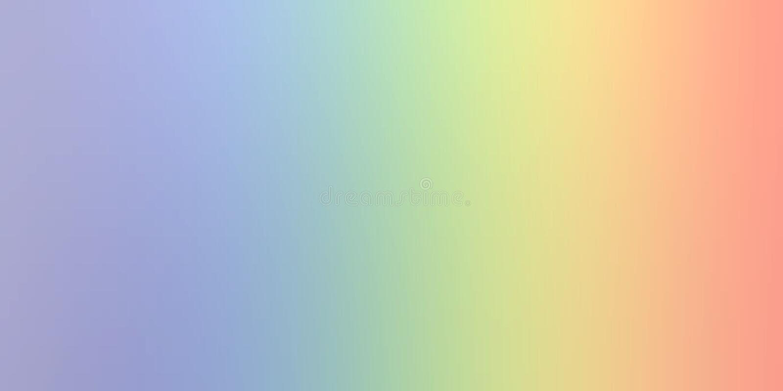 Pastel color abstract blur background wallpaper, vector illustration. royalty free illustration