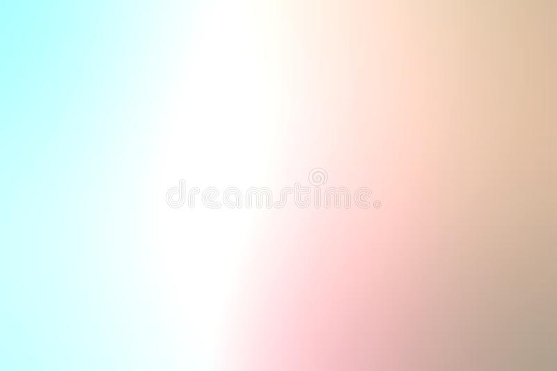 Pastel color abstract blur background wallpaper, vector illustration. stock photography