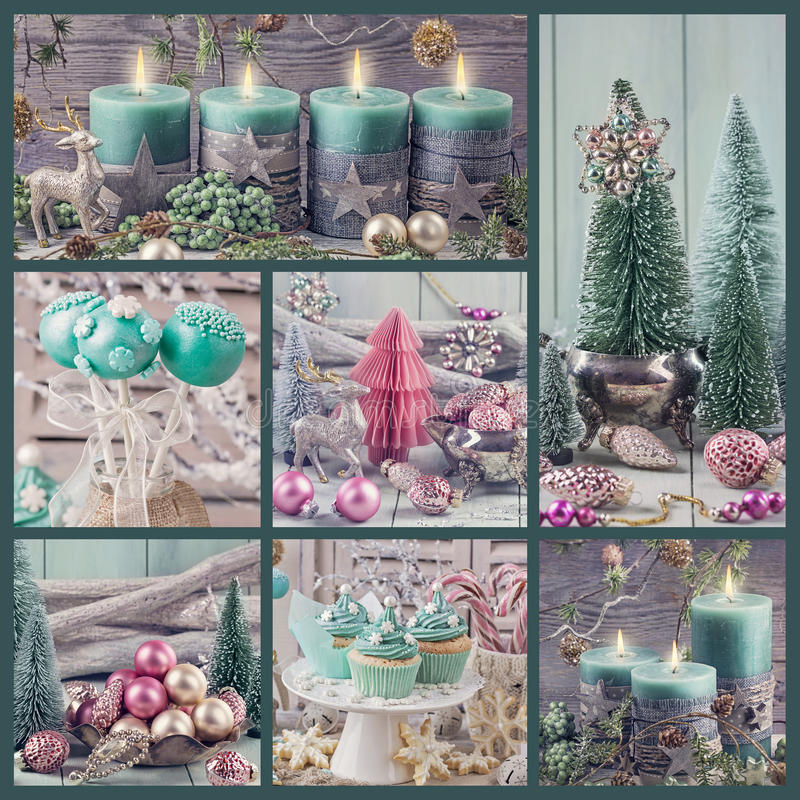 Free Pastel Colored Christmas Decoration Royalty Free Stock Photos - 62835678