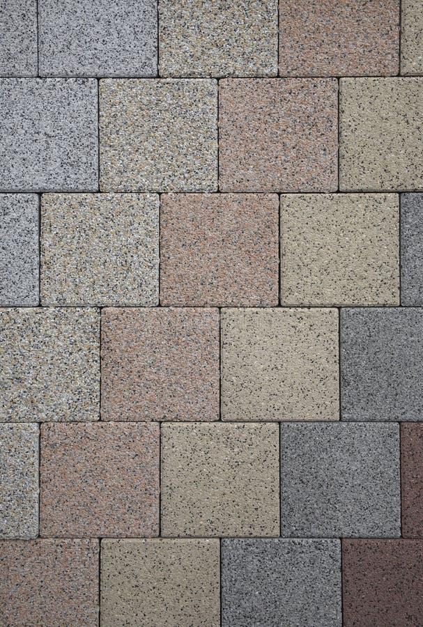 Pastel colored geometric stone pattern royalty free stock photo