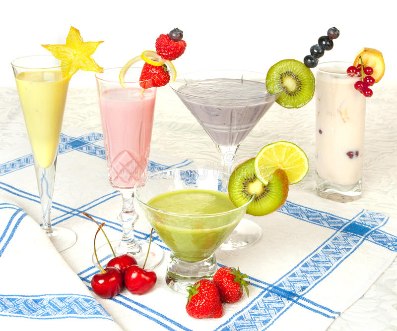 Download Pastel colored smoothies stock image. Image of decorated - 25377575