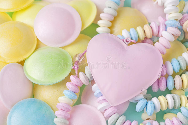 Download Pastel colored sweets stock photo. Image of treat, sweets - 40662696