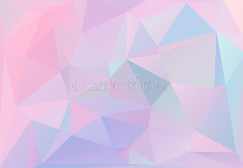 Pastel Colors Inspired From The 80s 90s Aesthetics Holographic Low Poly Design Stock Illustration Illustration Of Graphic Background 150454911