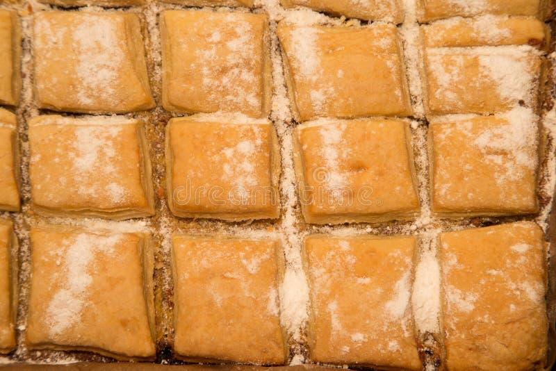 Pastel de calabaza cocido fresco fotografía de archivo libre de regalías