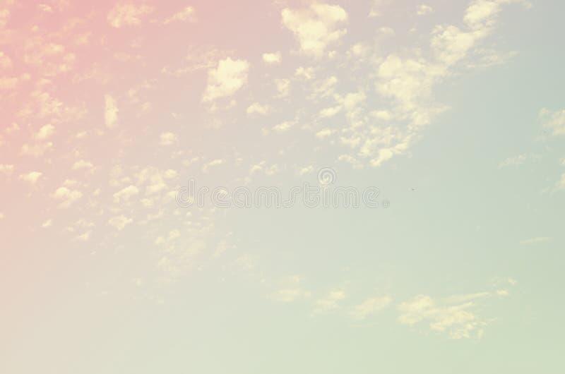 Pastel de la textura del cielo del vintage libre illustration