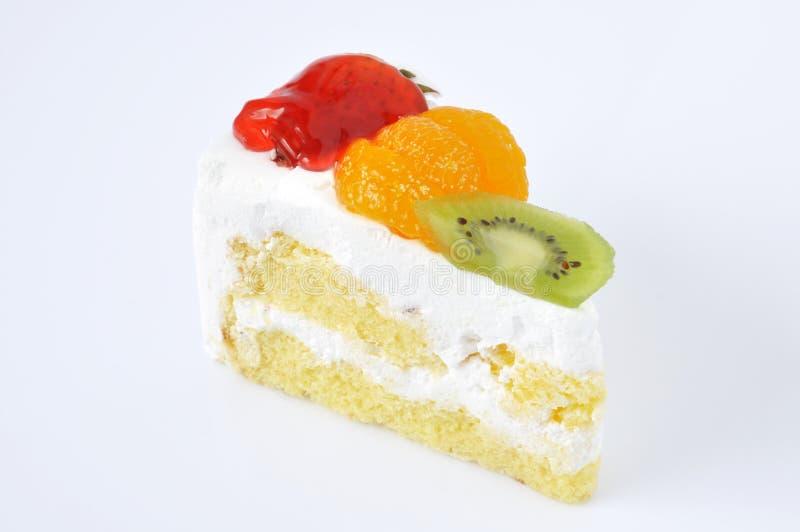 Pastel de queso de la fruta fotos de archivo libres de regalías