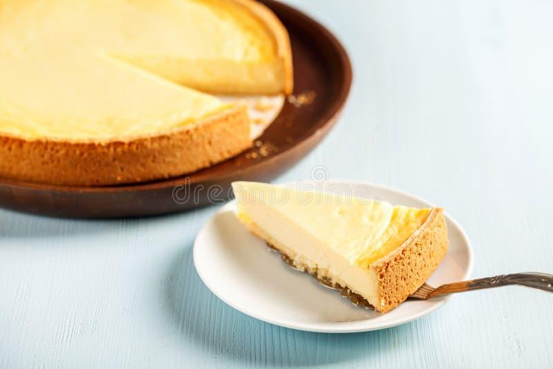 Pastel de queso hecho en casa imágenes de archivo libres de regalías