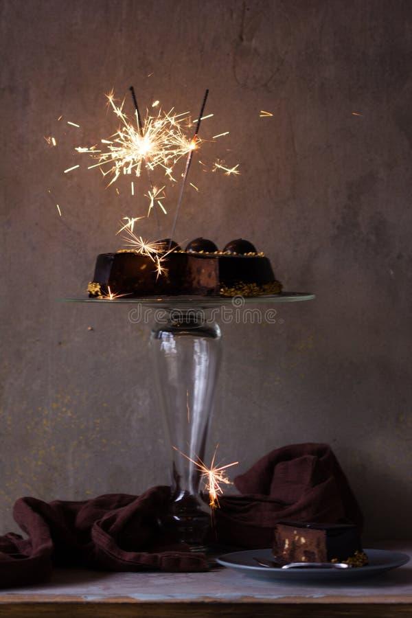 Pastel de queso de la Navidad con mascarpone Receta tradicional de la torta del invierno del pastel de queso festivo de la Navida imagenes de archivo