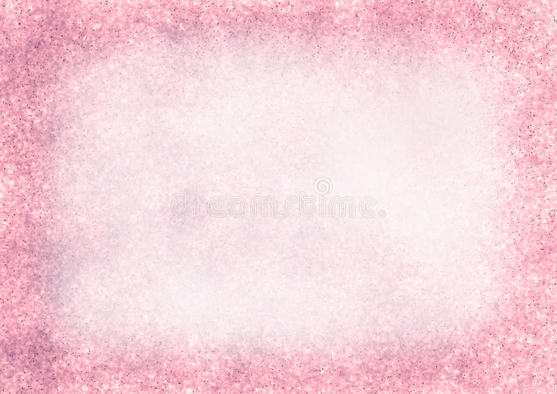Pastel drawn textured background in pink colors stock illustration
