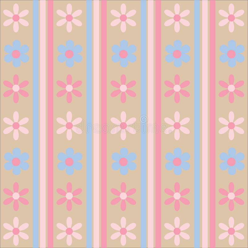 Download Pastel Floral Pattern stock vector. Image of background - 13250397