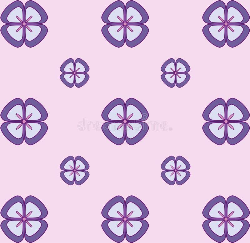 Pastel Floral pattern. Seamless vector texture. Elegant template for fashion prints. Ultraviolet. Pastel Floral pattern. Seamless vector texture. Elegant stock illustration