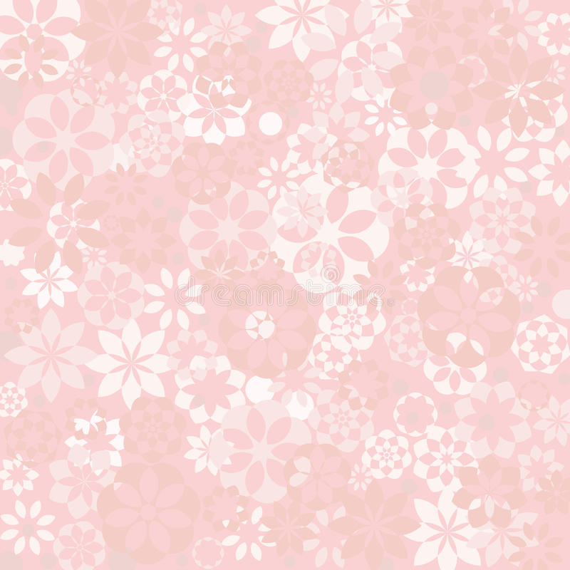 Pastel floral texture royalty free illustration