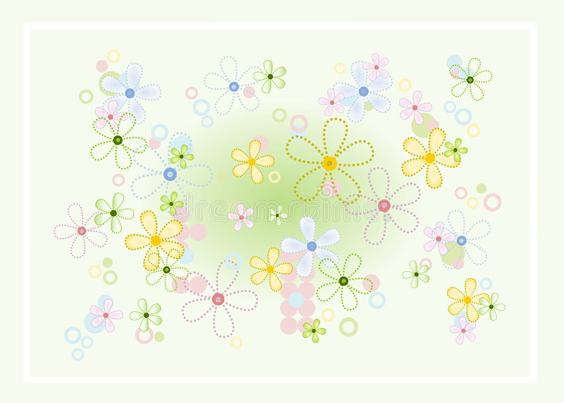 Download Pastel flower background stock vector. Illustration of girly - 1848776