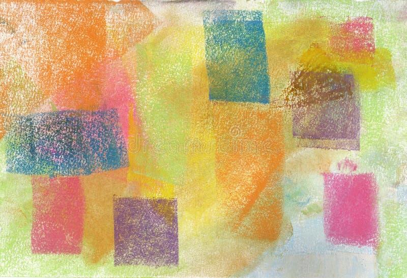 Pastel: Fondo de Grunge imagen de archivo libre de regalías
