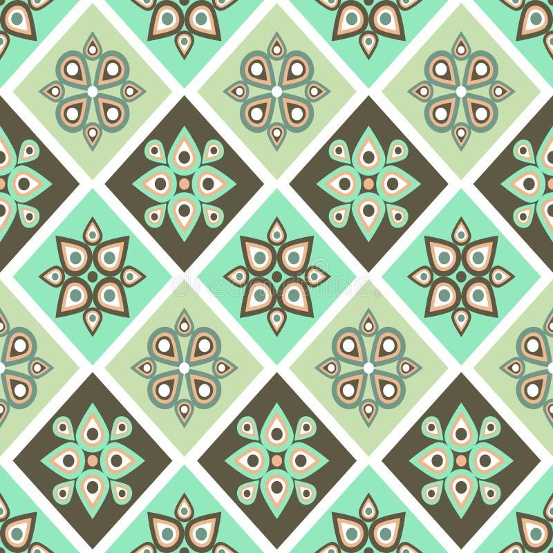 Pastel graphic seamless patterns stock illustration