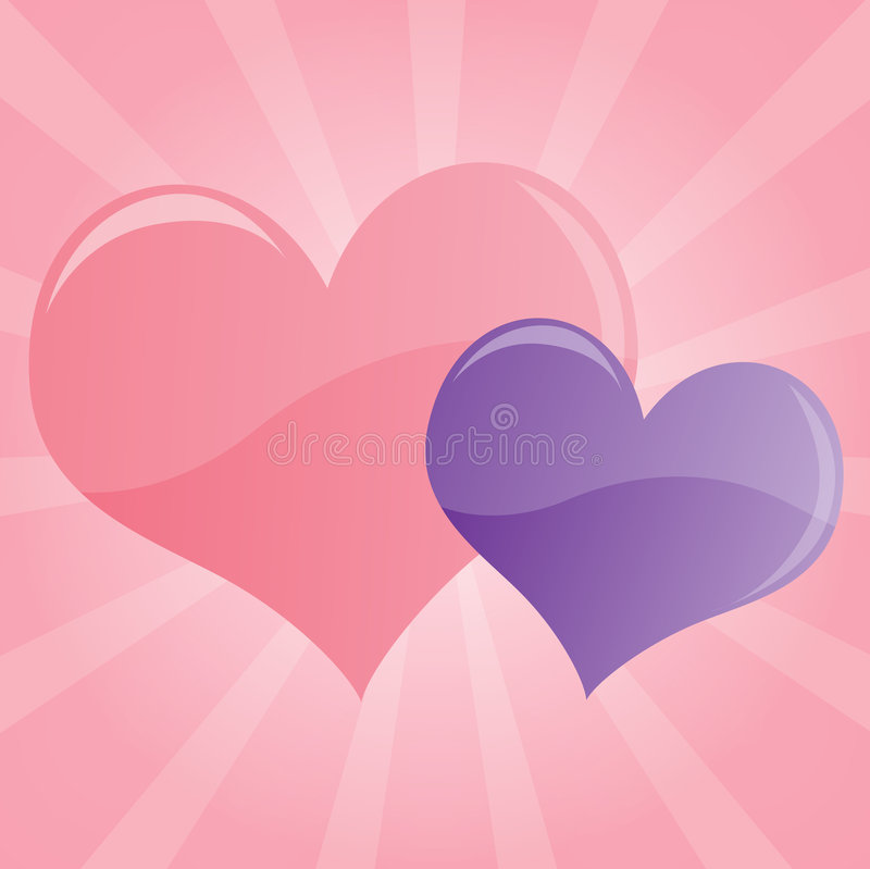 Free Pastel Hearts Background Royalty Free Stock Photos - 4643158