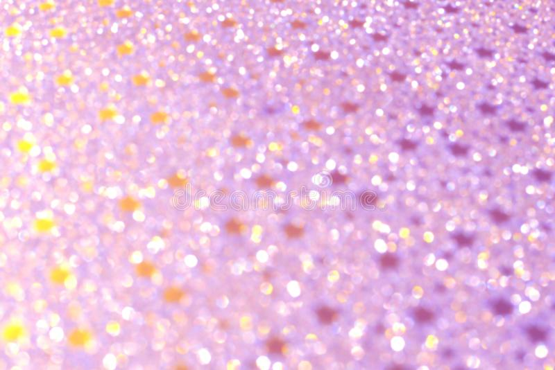 Pastel pink bokeh lights, festive background for cards or invitations royalty free stock images