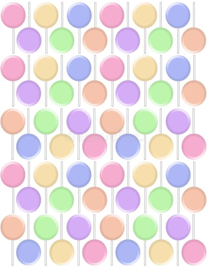 Download Pastel Lollipops Backgrounds Stock Illustration - Image: 17877564