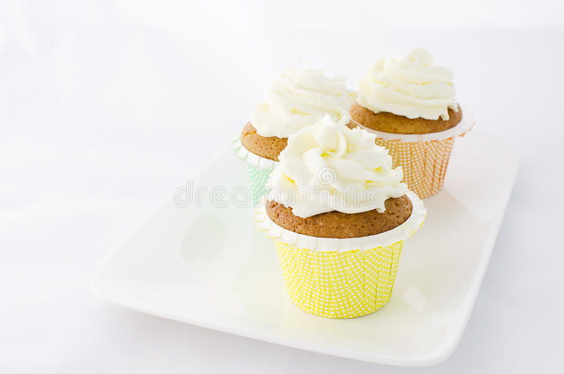Download Pastel Muffins stock image. Image of cream, easter, party - 28942167