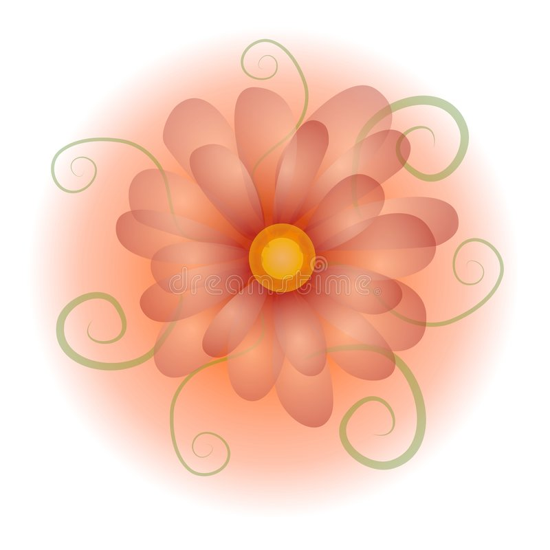 Download Pastel Opaque Flower Clip Art Royalty Free Stock Photo - Image: 2848695
