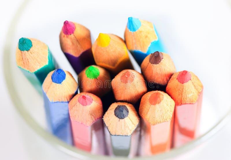 Pastel pencils in 12 colors