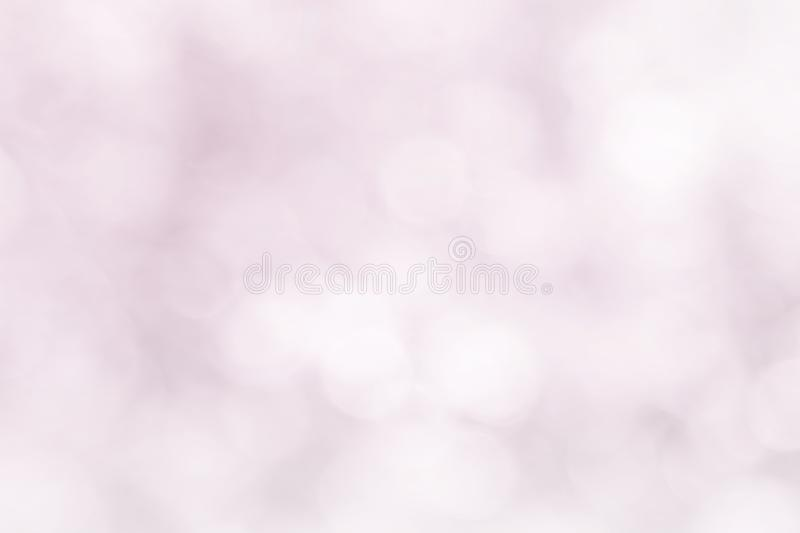 Pastel pink blur bokeh soft glitter light abstract spring background, Pink white effect background natural blurred flower at soft. Glitter shiny, Red In love royalty free stock image