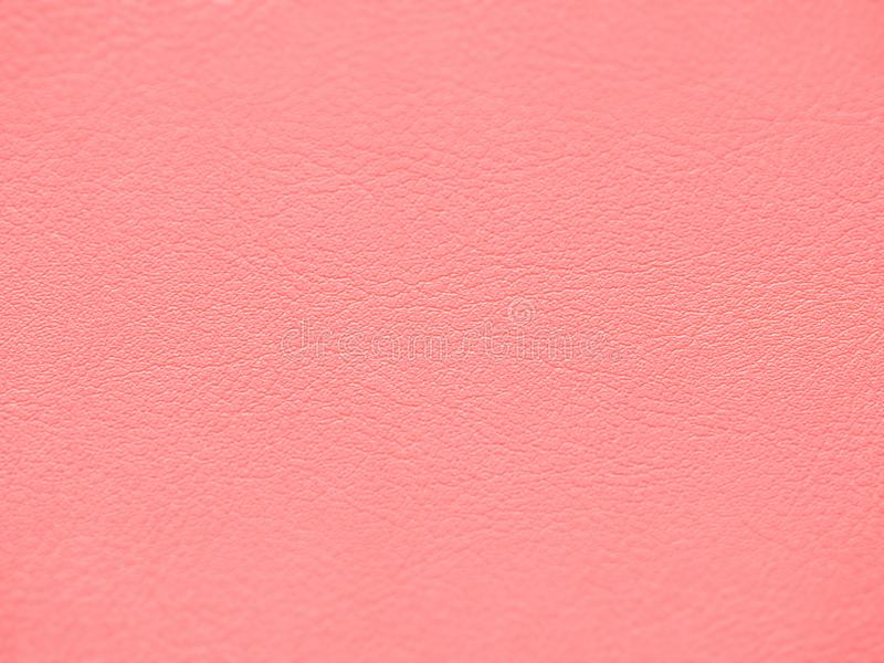 Pastel pink colored leather texture stock images