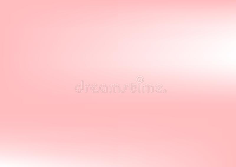 Pastel Pink Gradient Blur Abstract Background. Vector Illustration. vector illustration
