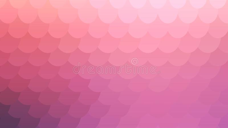 Pastel Pink Mosaic Backdrop for Banner Design. Colorful Pastel Background for Your Business and Advertising Graphic Design Project. Trendy Creative Desktop royalty free illustration