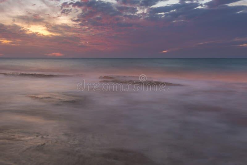 Pastel plaża fotografia royalty free