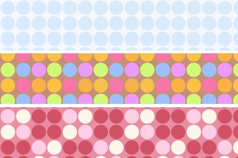 Download Pastel polkadot stock illustration. Image of abstract - 27588188