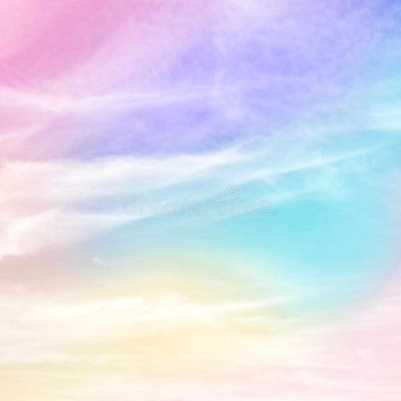 Free Pastel Rainbow Colored Background Royalty Free Stock Images - 87586939