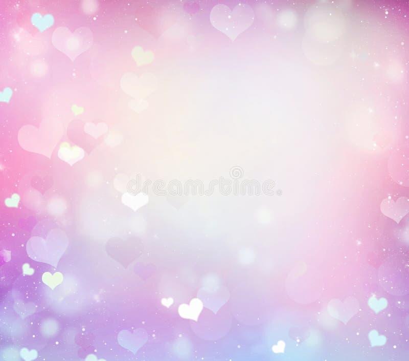 Pastel romantic pink wedding frame background. vector illustration